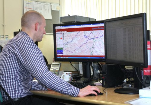 QRoutes user at Sheffield City Council